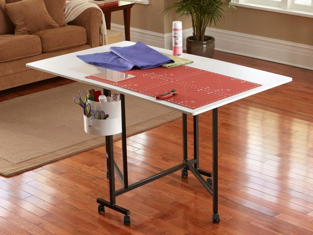 Portable Craft Table Hobby Home Sewing For Kids Drafting Folding Adjustable  #Sullivans