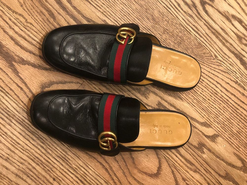 13b793935305 Gucci Mens New Kings Leather Dress Slides GG Size 9 - 10D US -Receipt  Attached  fashion  clothing  shoes  accessories  mensshoes  slippers (ebay  link)