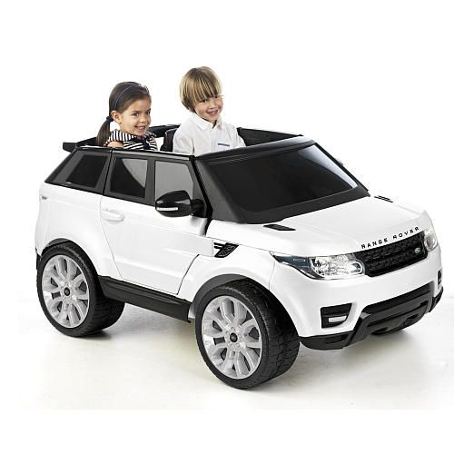 avigo range rover sport 12 volt powered ride on white toys r us itty bitty pinterest. Black Bedroom Furniture Sets. Home Design Ideas