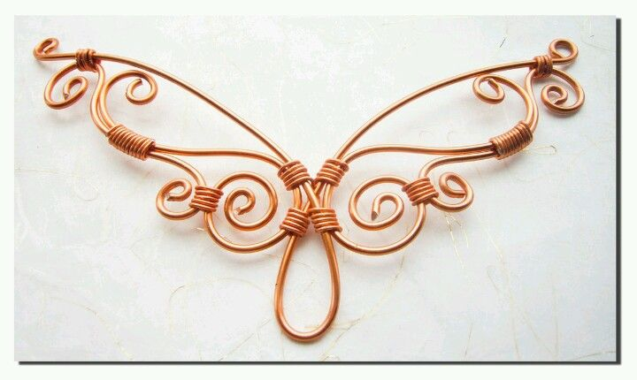 Wire Butterfly | diy jewelry | Pinterest | Butterfly, Wire wrapping ...