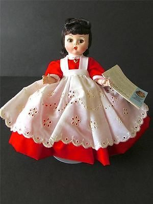 JO #413 VINTAGE MADAME ALEXANDER DOLL 8 INCHES TALL