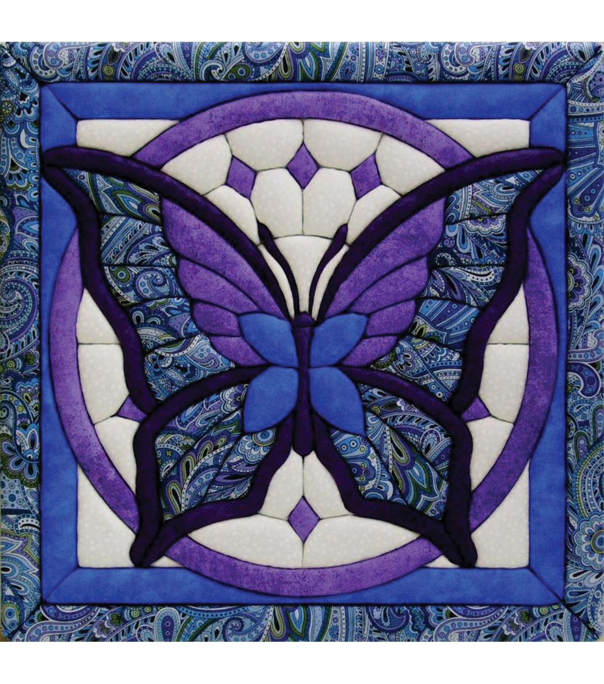 "Butterfly Quilt Magic Kit-12""X12"""