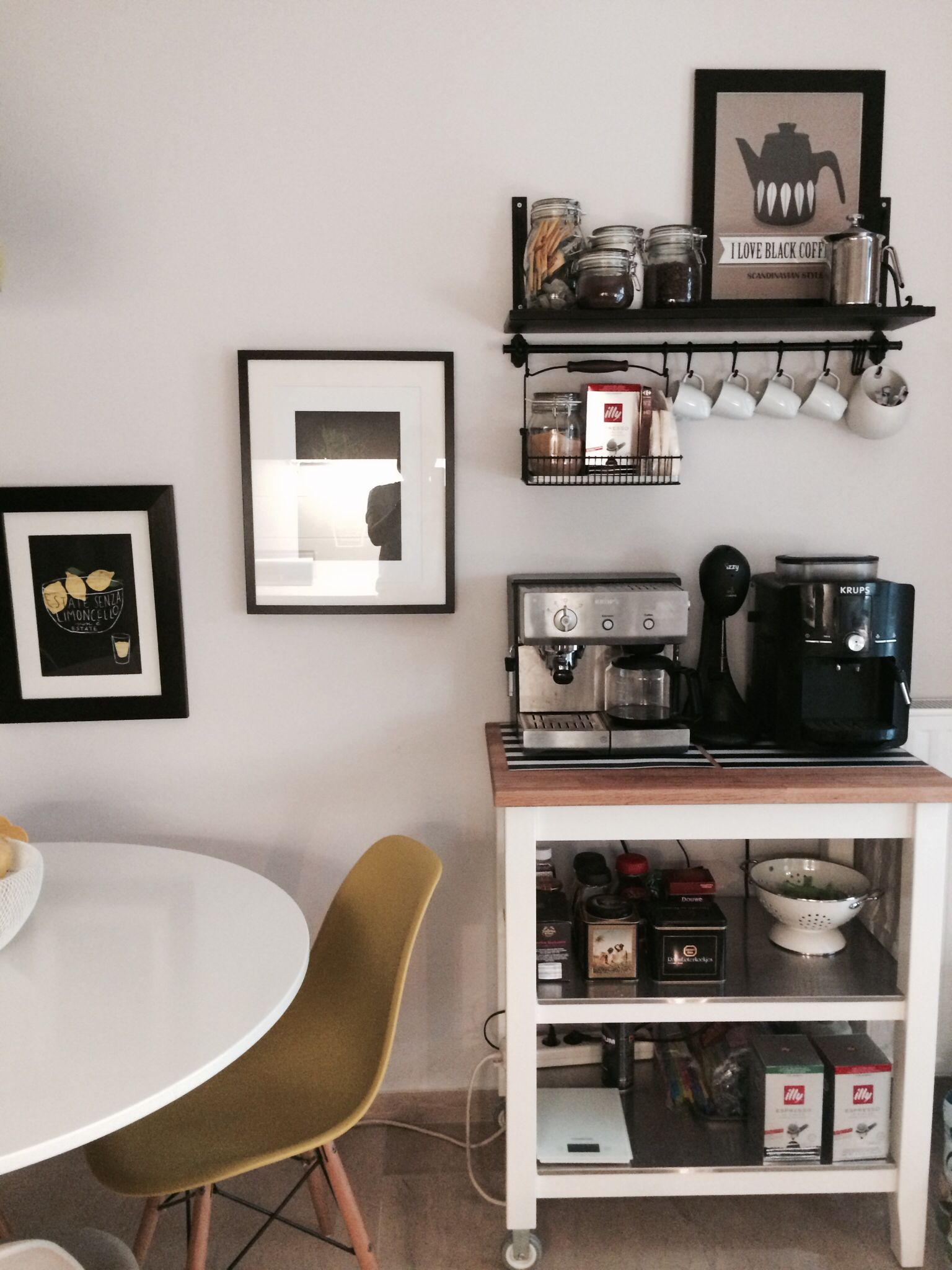 Astonishing Ikea Coffee Station In 2019 Coffee Bar Home Coffee Bar Frankydiablos Diy Chair Ideas Frankydiabloscom