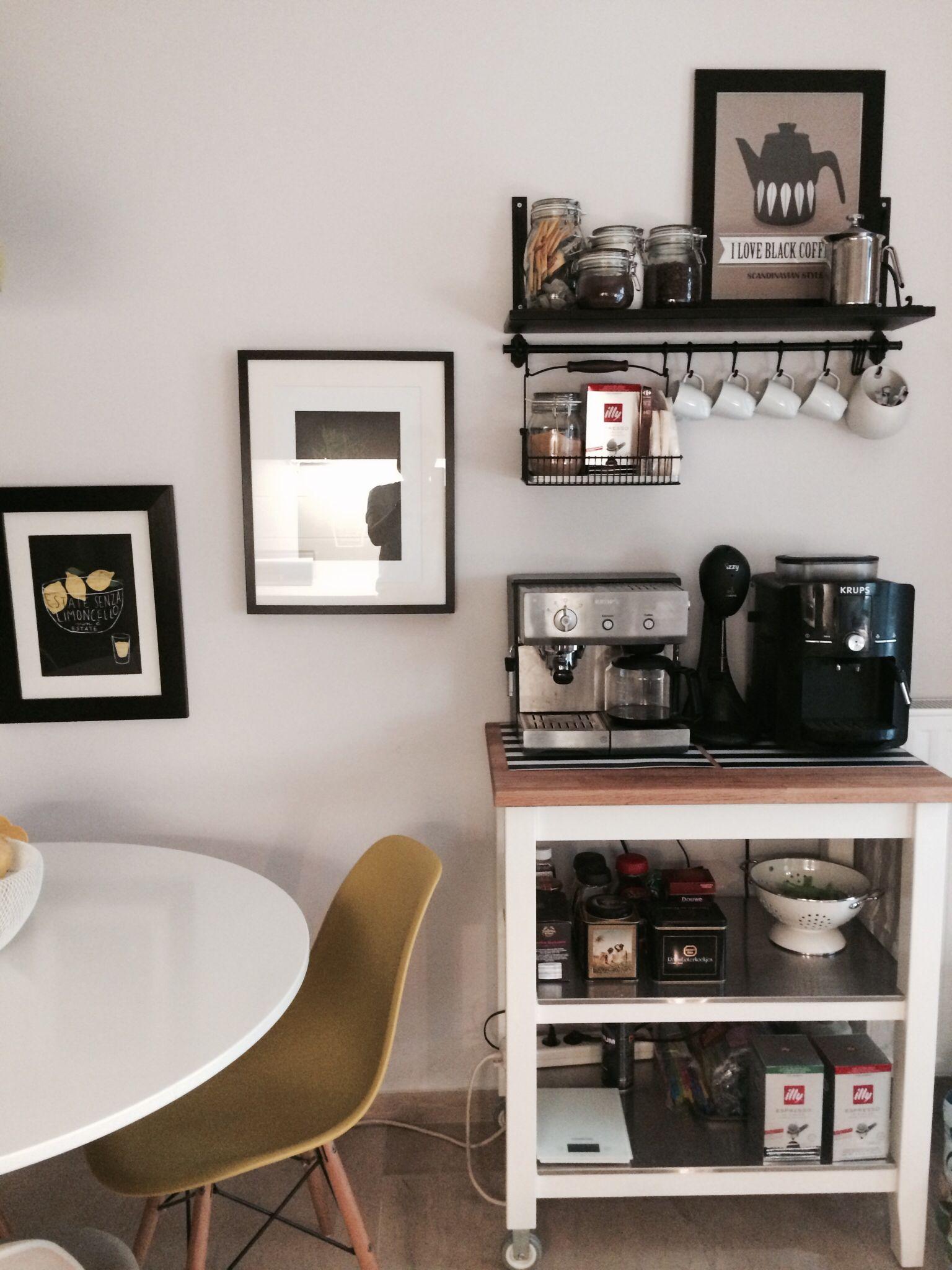 IKEA coffee station Coffee bar home, Coffee bars in