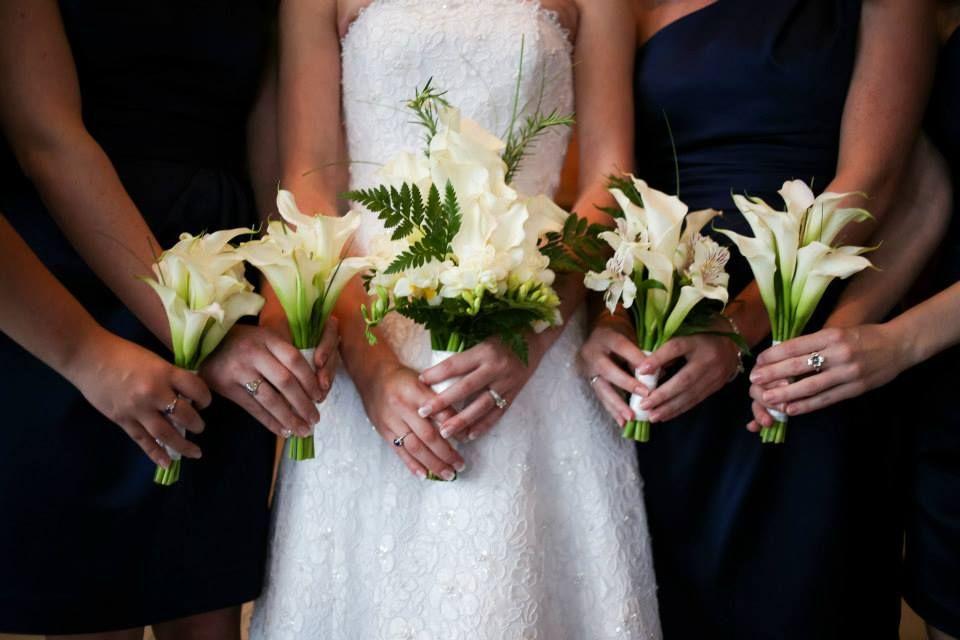 Calla Lily Bouquets Bridesmaid Used 10 12 Small Callas Maid Of