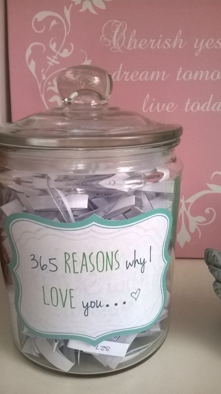 Magnifiek DIY-Valentijnscadeau: '365 reasons why I love you' | Relationships #ES54