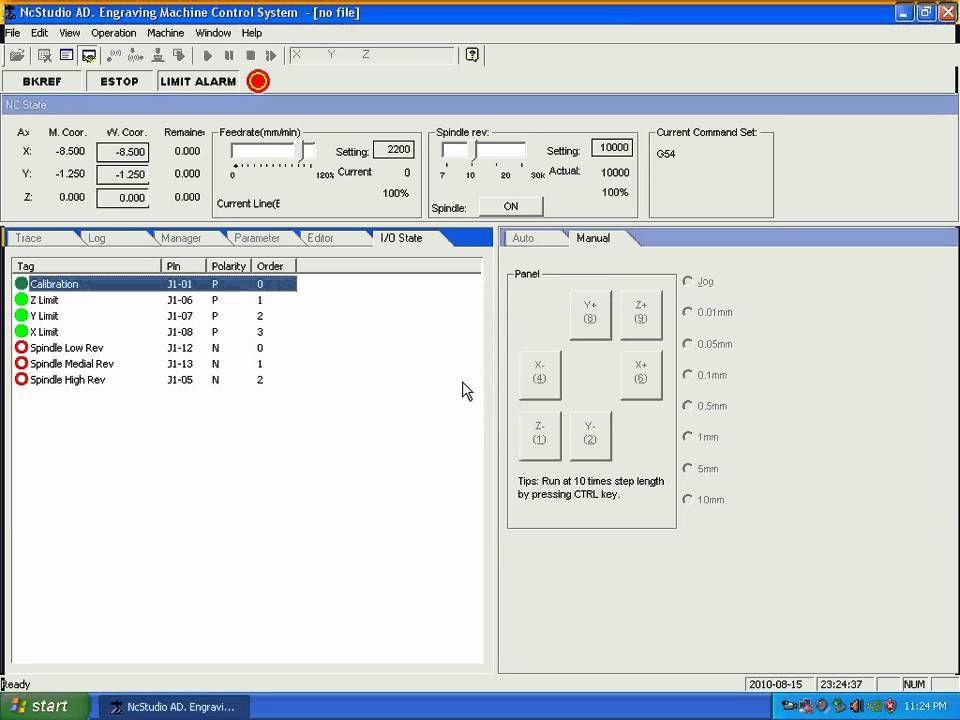 03 Nc Studio Limit Switches Cnc Milling By Www Salecnc Com Youtube Cnc Software Cnc Mill Cnc