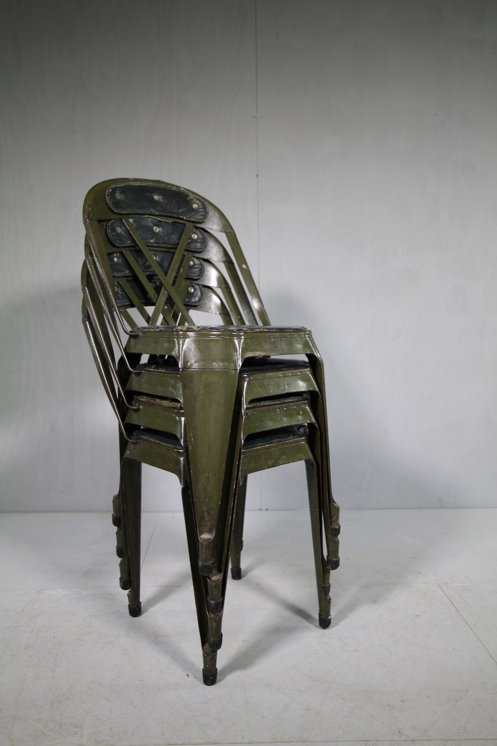 Bon Set Of 4 Evertaut 40s Steel Stacking Dining Chairs Miles Griffiths Antiques IMG_4140  (1000x1500)_main_636201687392686650