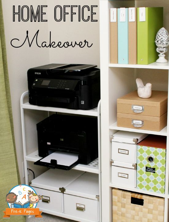 Summer Storage And Organization Blues Home Office Closet Home Office Storage Home Office Decor