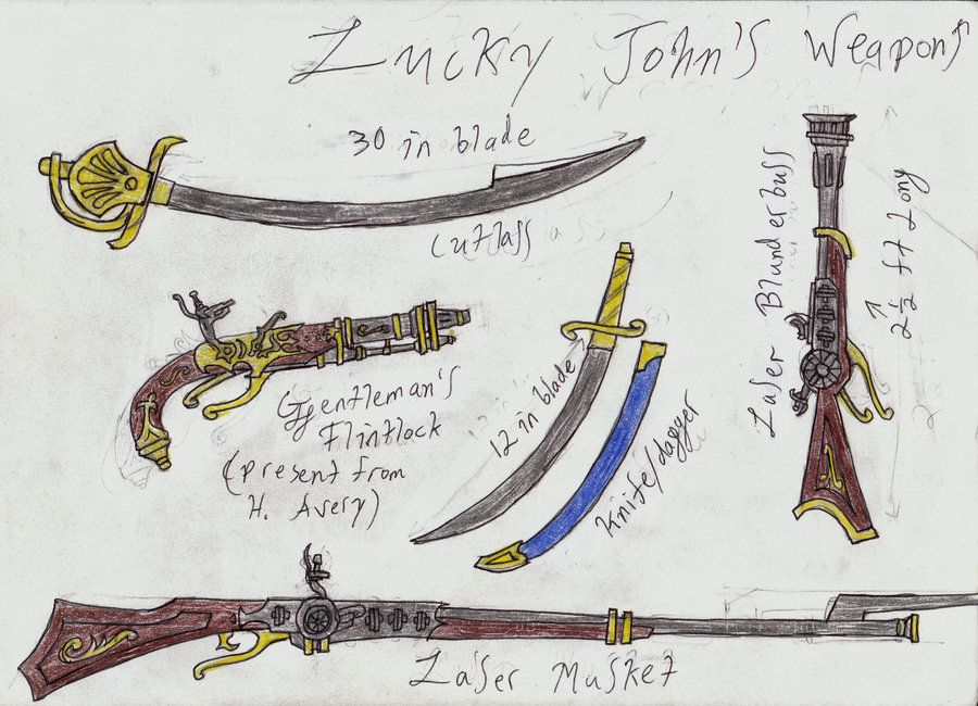 treasure planet weapons - Google Search