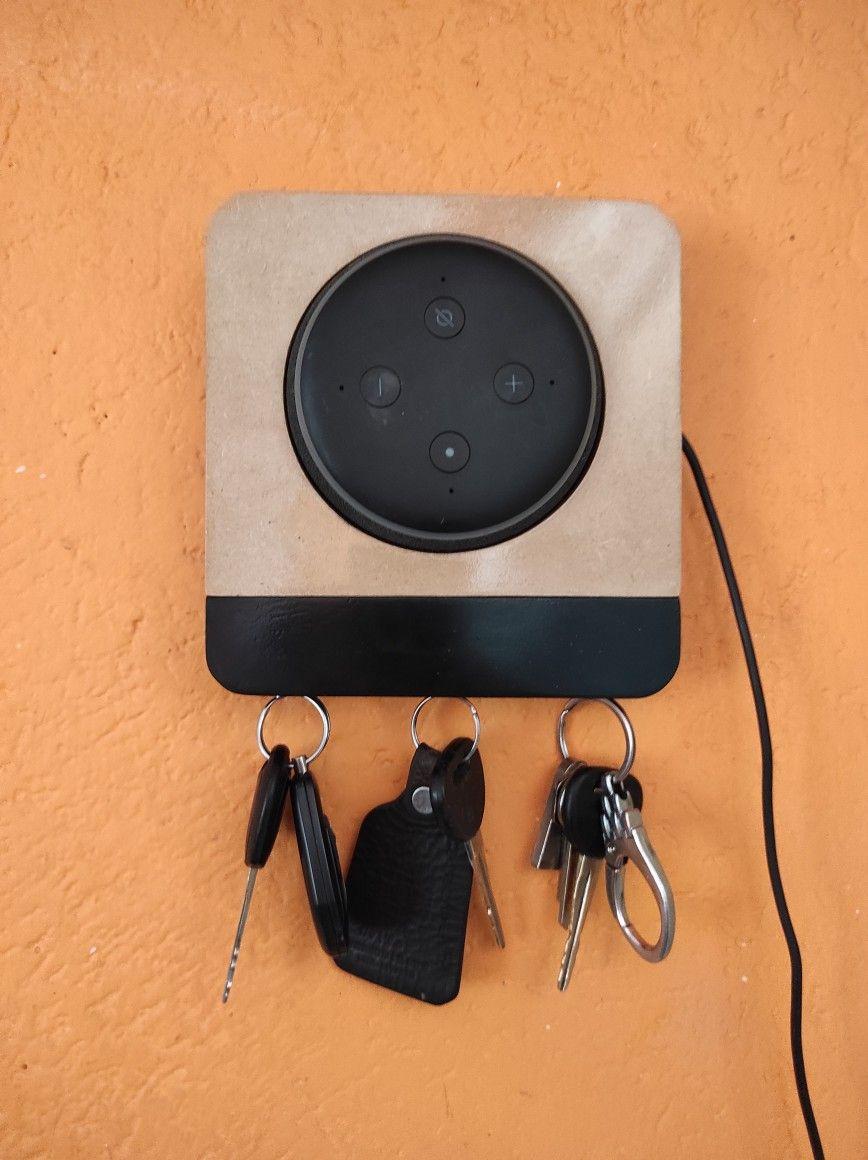 Diy Alexa Wall Holder Soporte Para Alexa Echo Dot 3 Casero Alexa Electronic Products Bluetooth Speaker