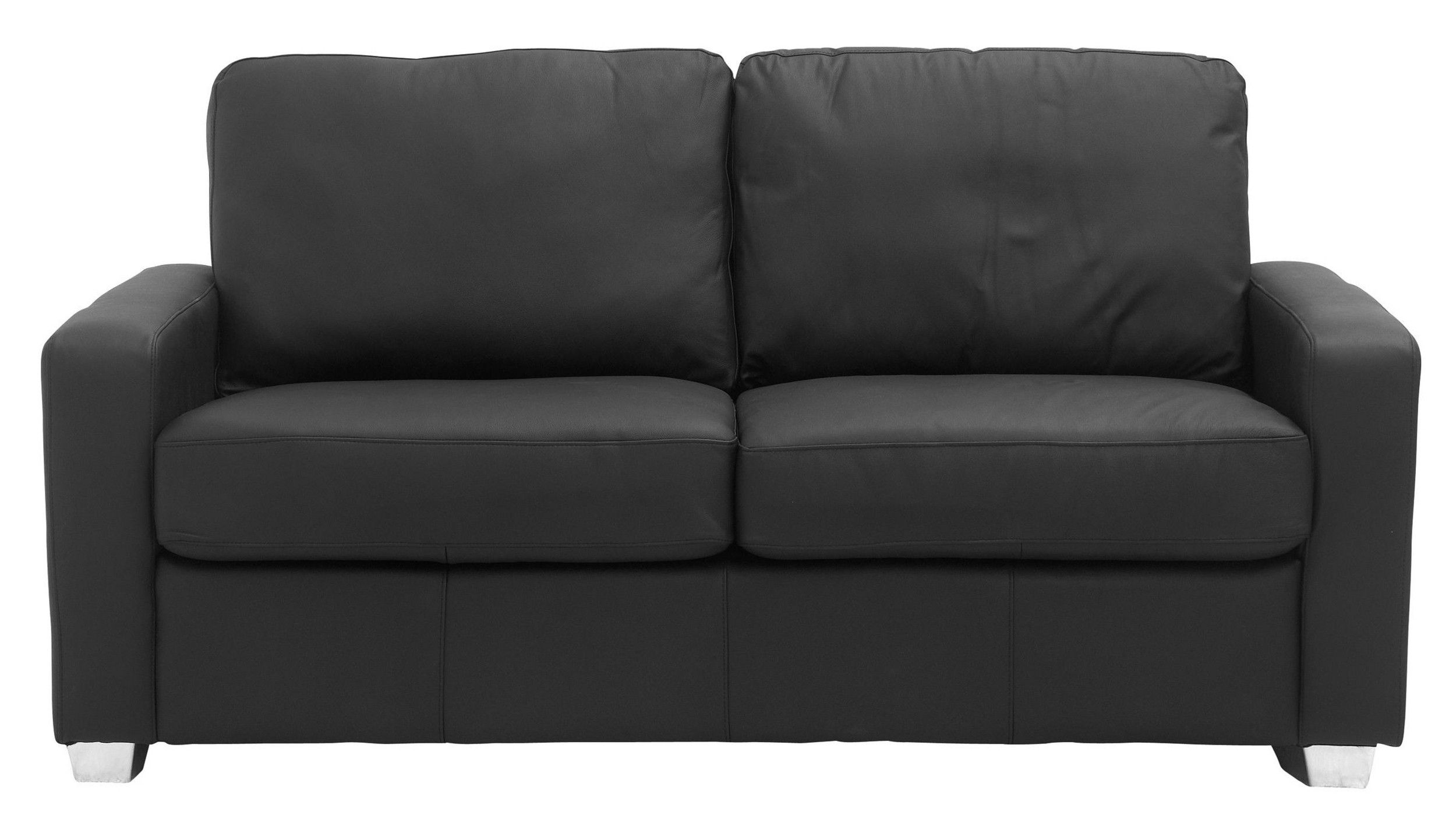 Caleb Leather Double Sofa Bed Double sofa bed, Sofa bed