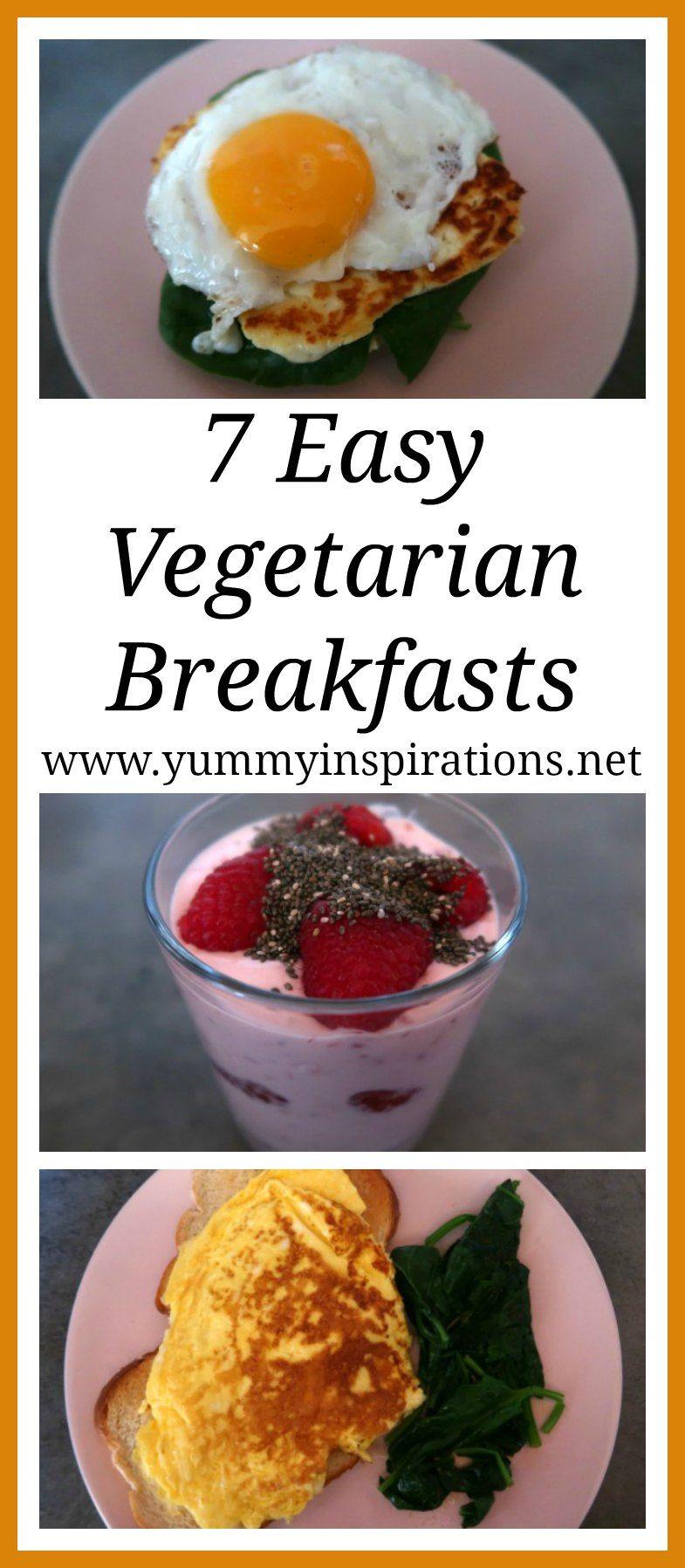 7 Healthy Vegetarian Breakfast Ideas Healthy Vegetarian