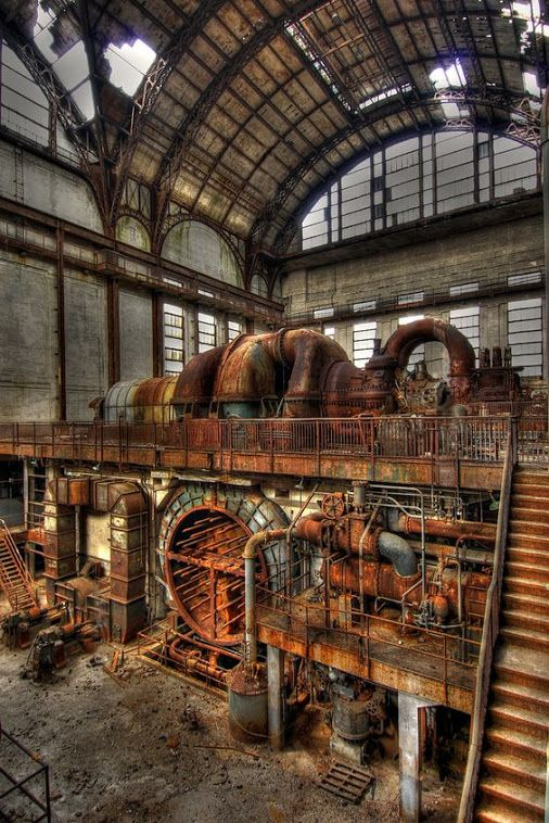 Abandoned Peco Richmond Plant Philadelphia Port Or Eagle