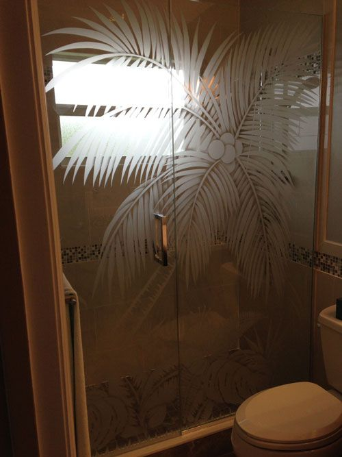 Etched Glass Shower Doors Glass Pinterest Shower Doors Doors