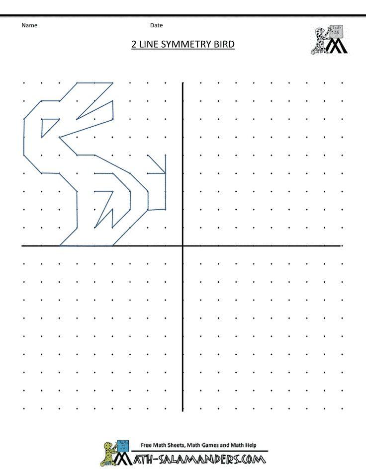 Printable Worksheets symmetry worksheets free : Visual Motor/Visual Perception Activities -symmetry worksheets 2 ...
