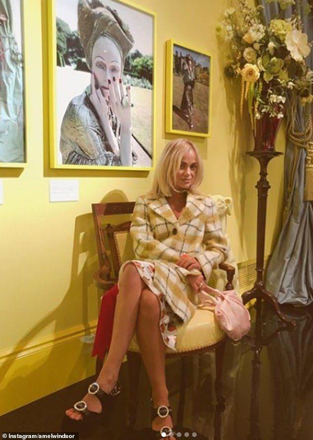 Lady Amelia Windsor calls Instagram 'quite toxic' despite having over 81k followers   Lady amelia windsor. Lady. Amelia