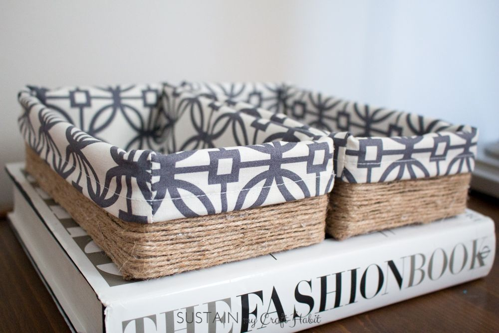 Upcycling a tissue box into a DIY decorative storage box. Scrap fabric some twine & Upcycling a tissue box into a DIY decorative storage box. Scrap ... Aboutintivar.Com