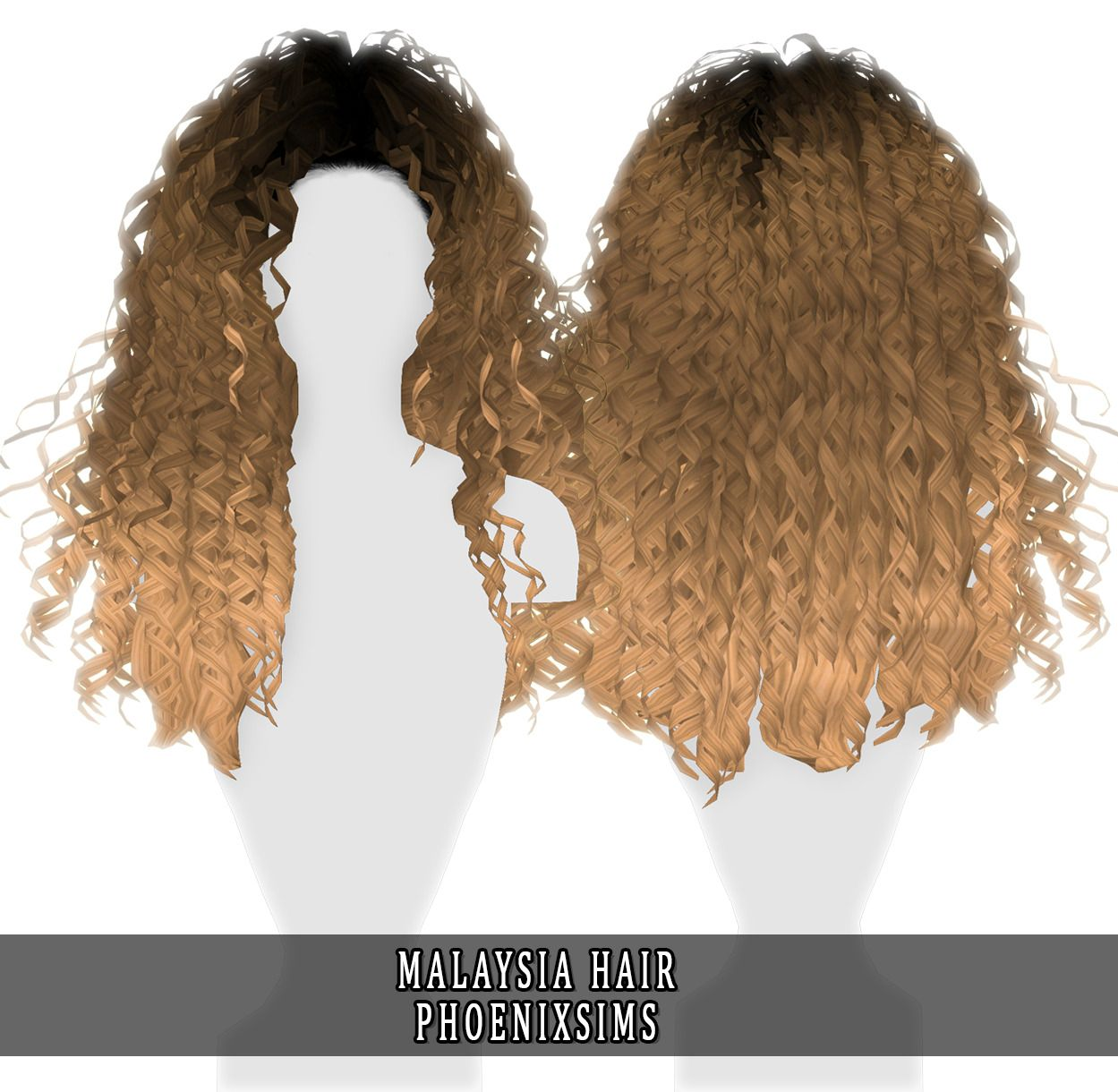 Phoenix-Sims — MALAYSIA HAIR 60 swatches; All Lod's; HQ mod... em ...