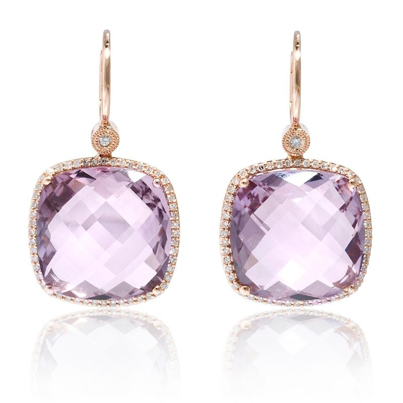 Pink Amethyst Firenze Jewelers
