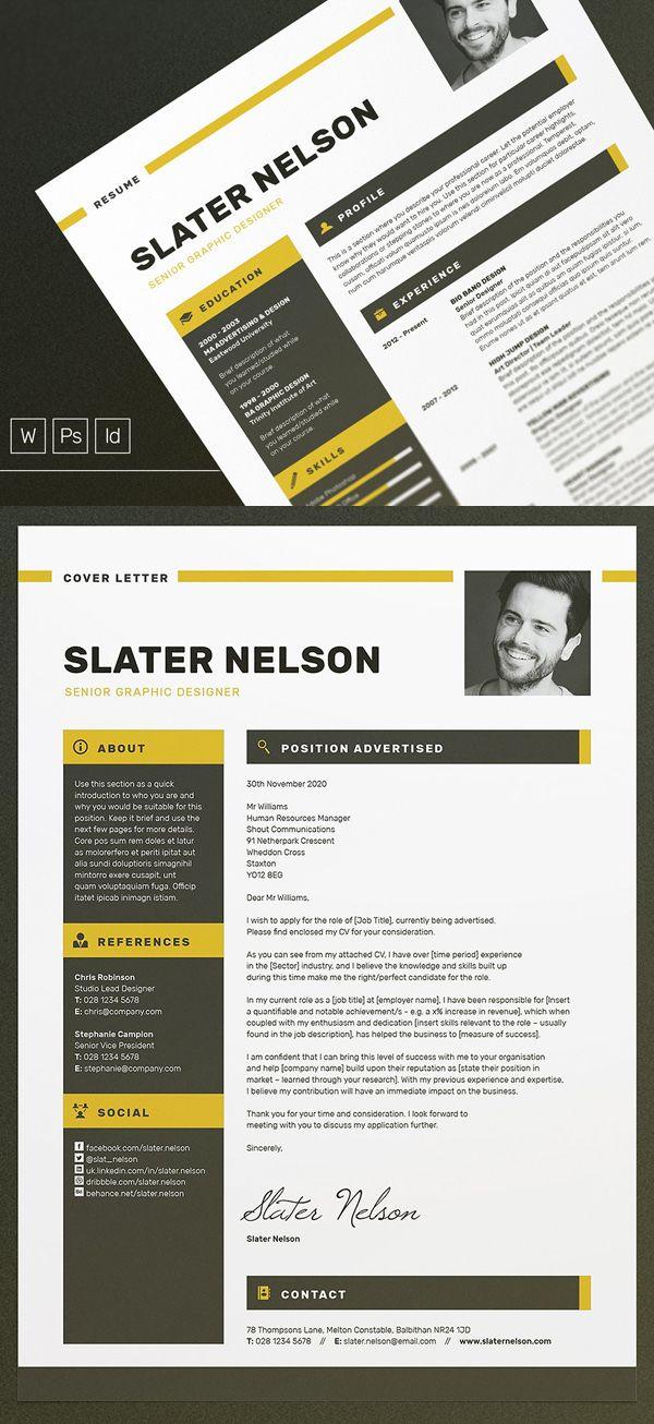 a4  u0026 us letter resume    cv template