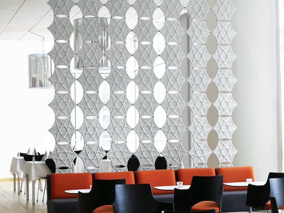 panneau de s paration pour bureaux insonorisant airflake. Black Bedroom Furniture Sets. Home Design Ideas