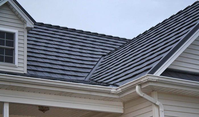 Future Roof Systems Shake Metal Roofs Metal Roof Metal Shake Roof Roof Cost