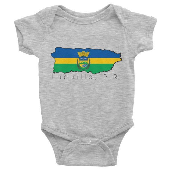 Luquillo Baby One Piece Products Camisas