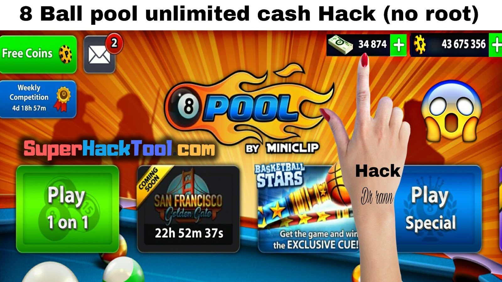 8 Ball Pool Generator App no verification 8 ball pool cheats and hack free cash and