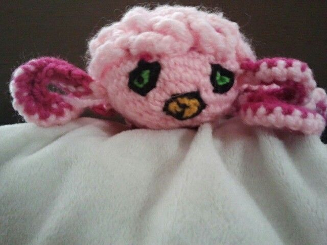 Crocheted Krang (nasty looking brain thing came out looking better then I thought it would)