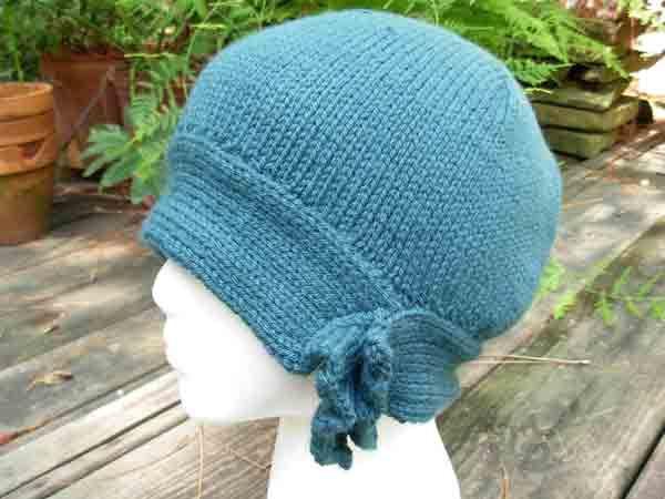 Free Pattern Knit Cloche Cloche Knitting Pattern Head