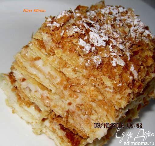 рецепт торта наполеон от едим дома