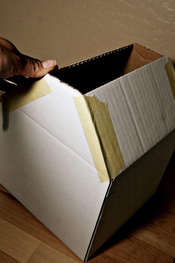 Como hacer un establo con una caja de cart n craft ideas for Como hacer una granja de peces