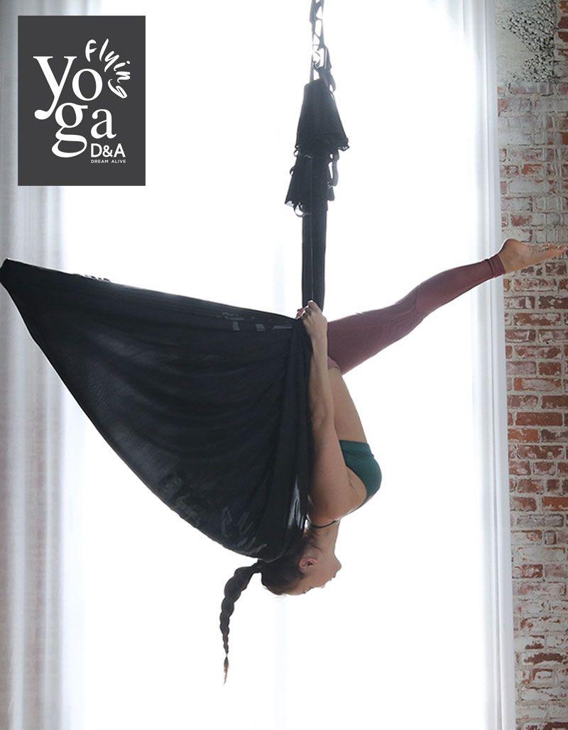 D&A Flying Yoga | Aerial Yoga | Aerial yoga poses, Aerial ...