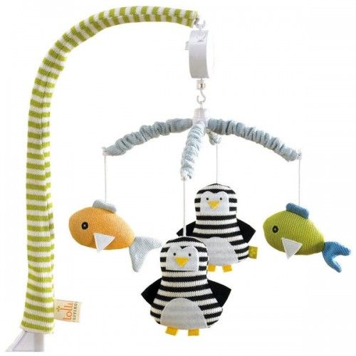 Marvelous Lolli Living Musical Mobile Set Phinley Penguin $49.00 Online At  Www.smittysbabygeargalore.com Or