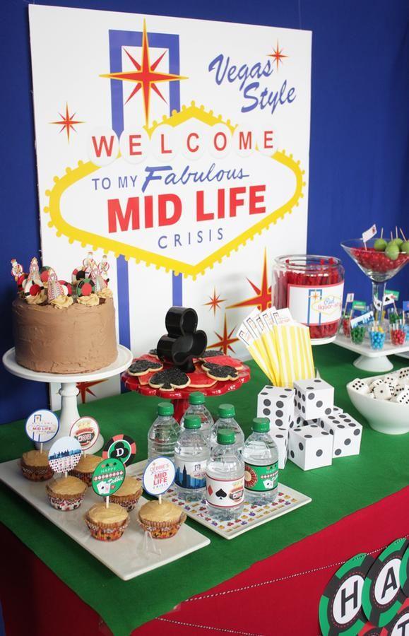 Las Vegas Birthday Party