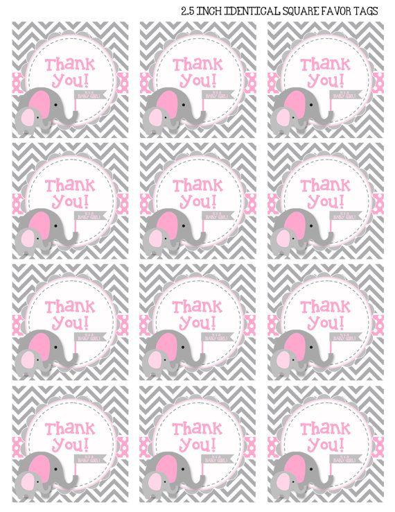 17 Recuerdos para baby shower de elefantes