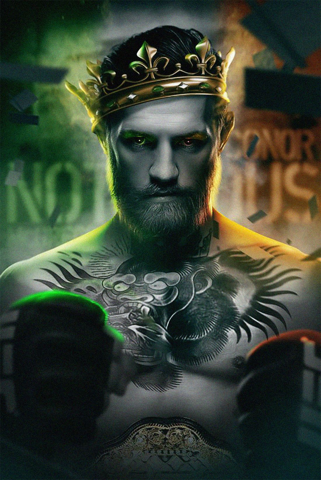 Ufc Collection On Behance Ufc Conor Mcgregor Conor Mcgregor Conor Mcgregor Wallpaper