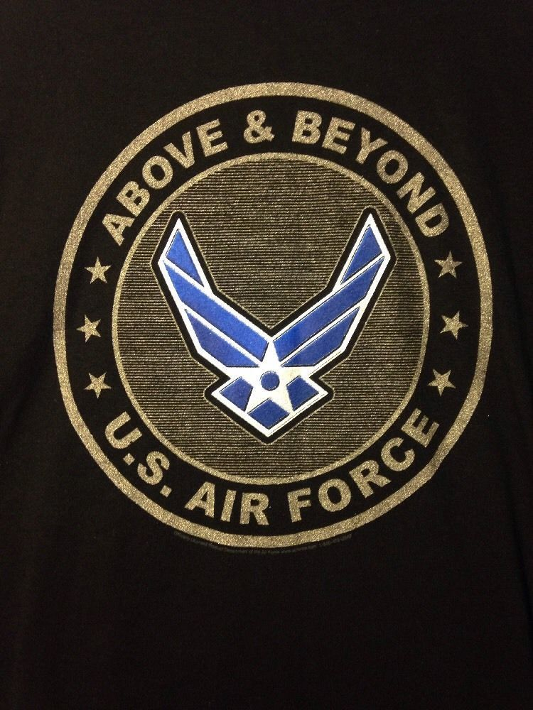 US Air Force TShirt Above & Beyond, Mens XL, Made by