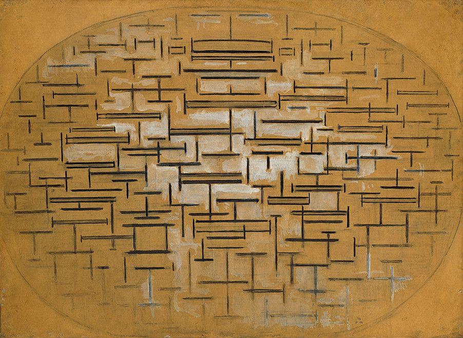Collection Online Piet Mondrian. Ocean 5. 1914, Holland