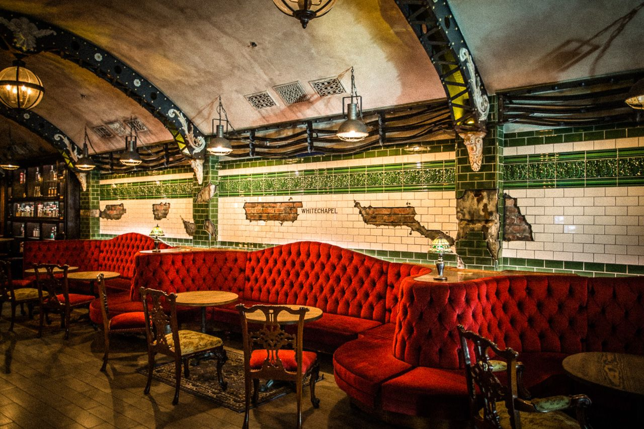 Tour This Vintage Style Industrial Gin Bar Inspired By London S Abandoned Underground