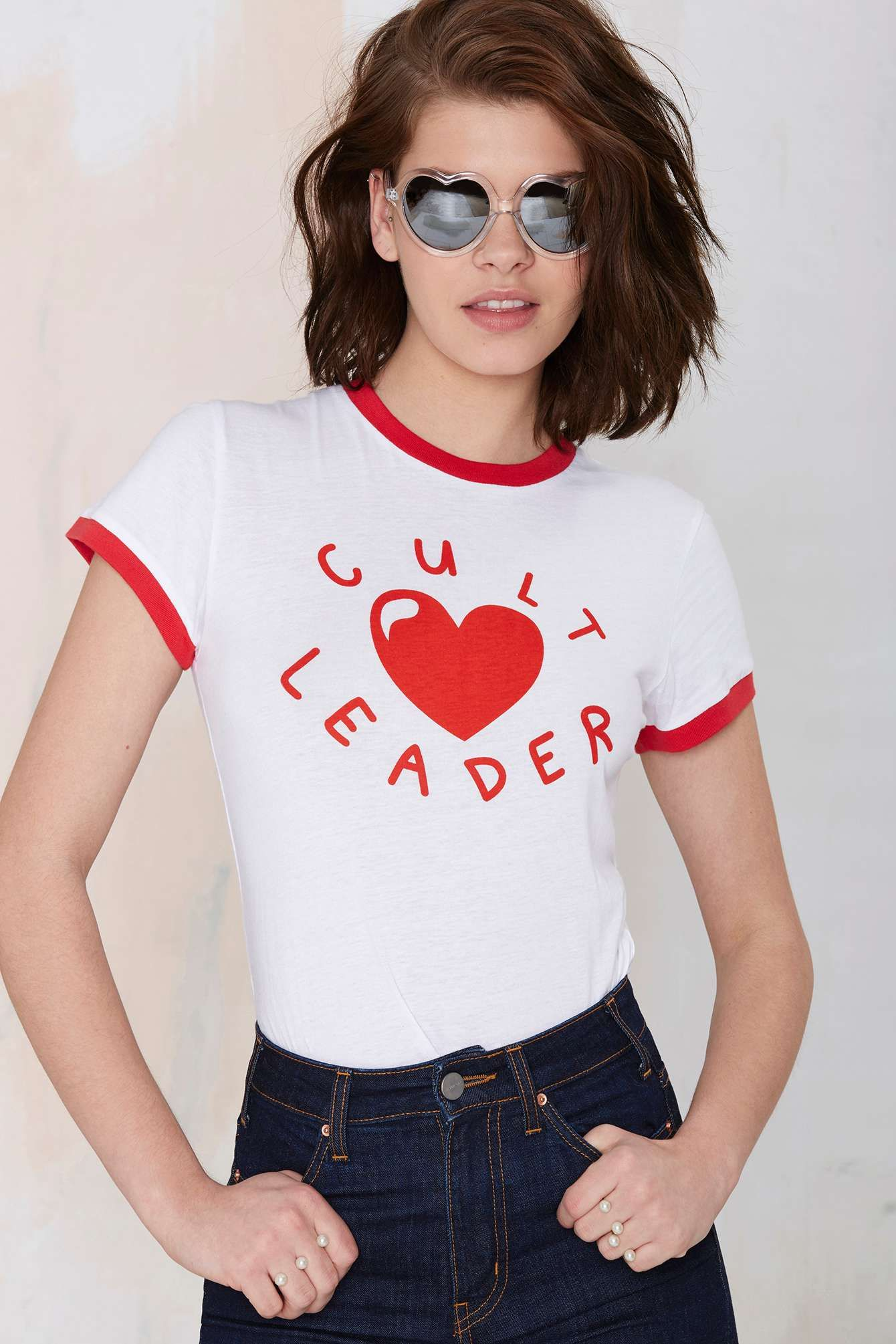 Lazy Oaf Cult Leader Tee