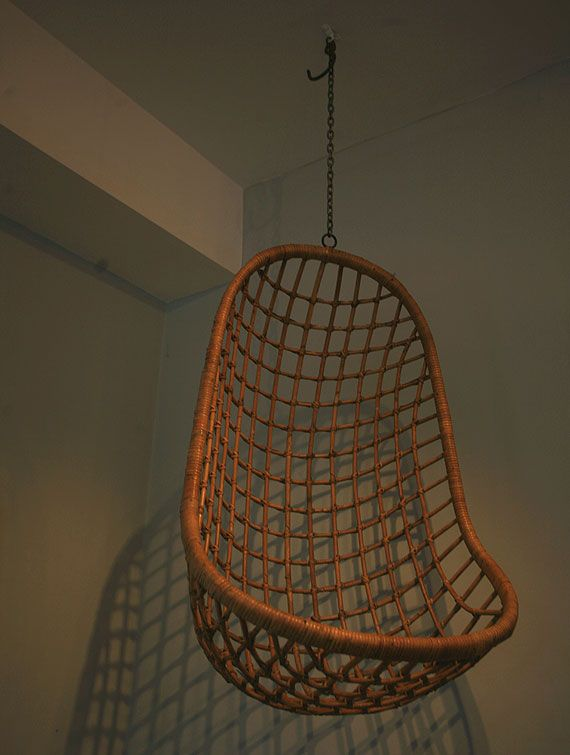 twocolumbia rd second hand sold - Hanging Wicker Chair