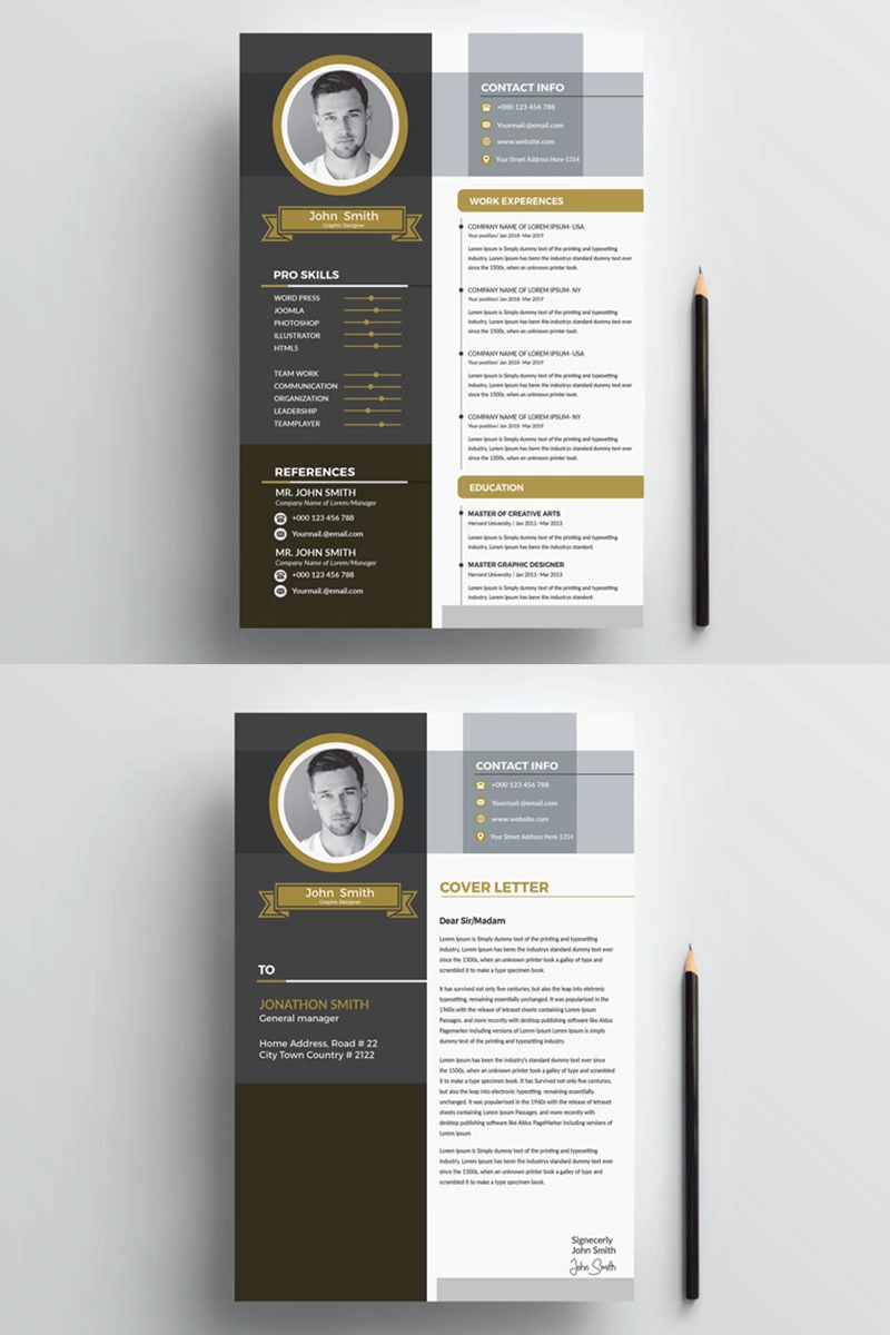 John Smith Cv Resume Template Resume Template Cv Resume Template Resume Template Resume Templates