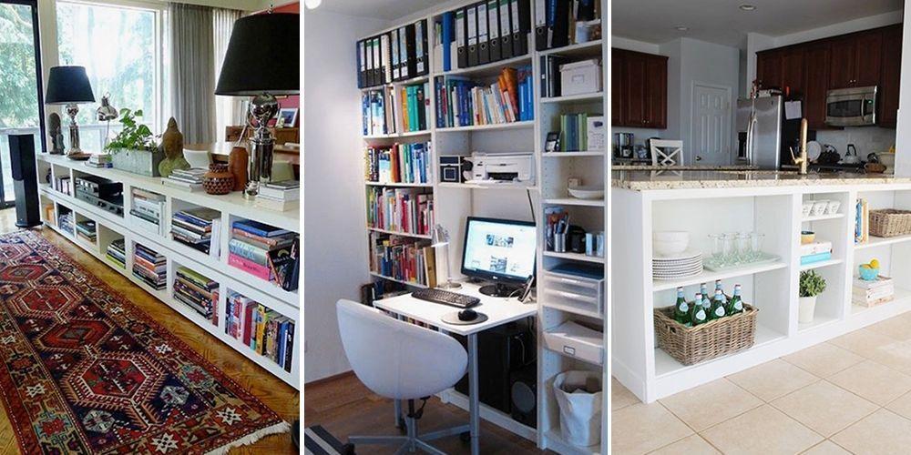 Ikea BILLY bookcase hacks BILLY bookcase UK Home