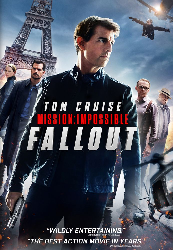 Mission Impossible - Fallout [DVD] [2018] Henry cavill was so good in this one. And the director