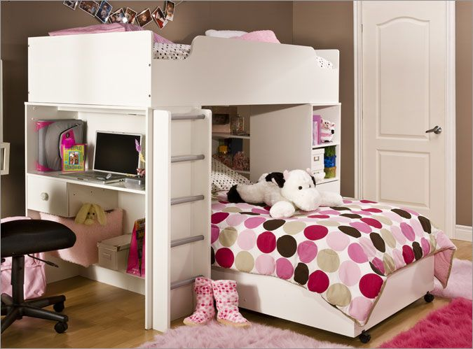Another cute little girl room!