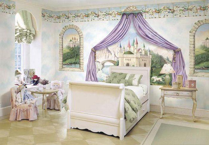 Elegant Princess Bed for Adults