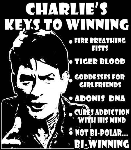 Charlie Sheen Im Winning - SelebrityToday