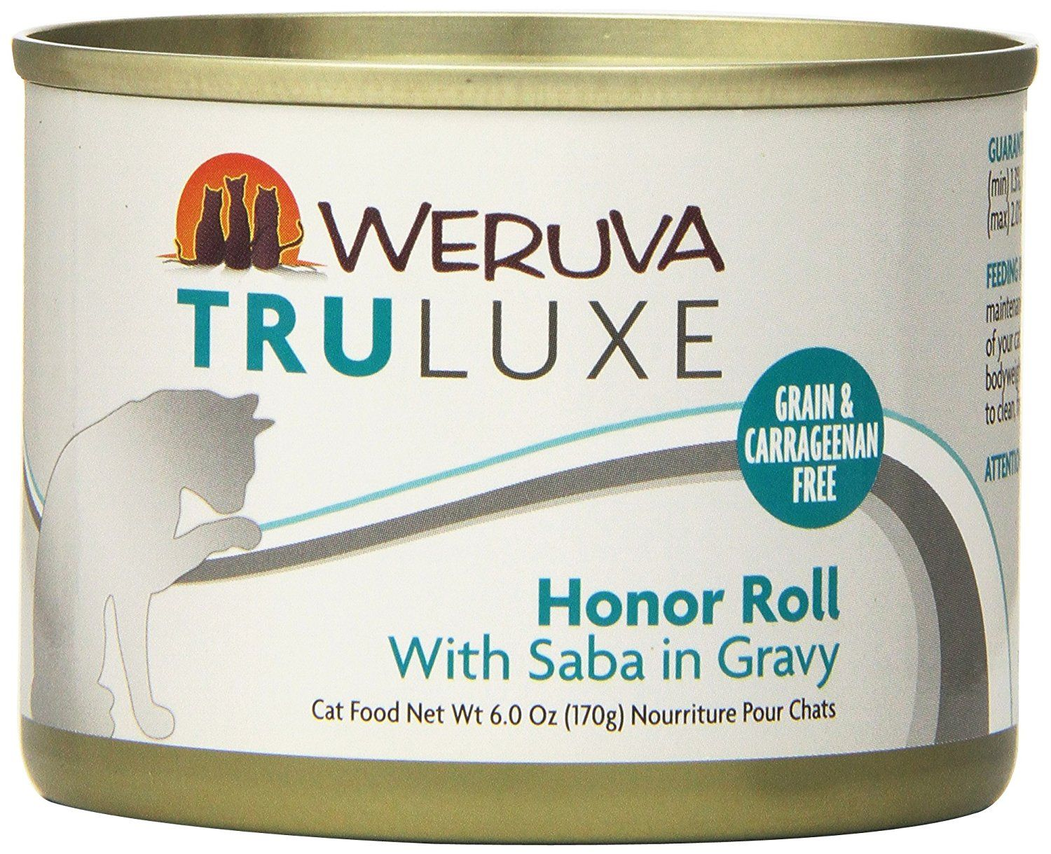 Weruva Truluxe Honor Roll Canned Cat Food For Pets 6 Ounce Gravy Review More Details Here Best Cat Food Canned Cat Food Cat Food Best Cat Food